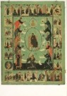Anoniem,  -  The mother of God and Acathistus, mid XVI century, - Postcard -  A3839-1