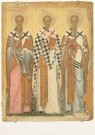 Anoniem,  -  The selected Saints: St. James, St. Nicholas, St. - Postcard -  A3850-1