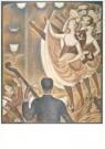 Georges Seurat (1859-1891)  -  Le Chahut, 1889-90 - Postcard -  A3929-1