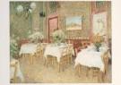 Vincent van Gogh (1853-1890)  -  Interieur van een restaurant, 1887 - Postcard -  A3932-1