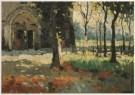 Raoul Hynckes (1893-1973)  -  Kerk te Nieuwpoort, 1912 - Postcard -  A4052-1
