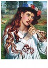 William Holman Hunt (1827-1910 -  Amaryllis, 1884 - Postcard -  A44484-1