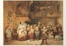 Willem Hendrik Schmidt 1809-18 -  W.Schmidt/Een school/AHM - Postcard -  A4498-1