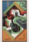 Juan Gris (1887-1927)  -  J.Gris/Stilleven met pijp/KM - Postcard -  A4524-1