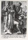 Chrispijn van de Passe  -  C.van Passe/Aetas decrepita. - Postcard -  A4566-1