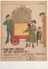 Willy Sluiter (1873-1949)  -  W.Sluiter/Als het orgel/AHM - Postcard -  A4647-1