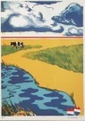 Jan Cremer (1940)  -  Dutch landscape. - Postcard -  A4683-1