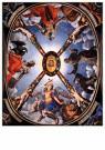 Agnolo Bronzino (1503-1572)  -  Vault decoration, circa 1541 - Postcard -  A47824-1