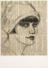 Harrie Kuyten (1883-1952)  -  H.Kuyten/Portret op Krant/MKB - Postcard -  A4880-1