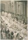 E.Matania (1847-1929)  -  Feesttafel b.g.v het huwelijk van keizerdochter Vi - Postcard -  A4884-1