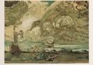 Salvador Dali (1904-1989)  -  Le Tourbillon, 1963 - Postcard -  A5070-1