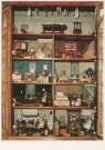Actiebord China  -  Poppenhuis van Lizzy Ansingh, begin 19e eeuw (kast - Postcard -  A5192-1
