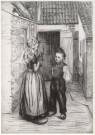 Betsy van Manen (1873-1915)  -  B.van Manen/Achtererf. - Postcard -  A5269-1