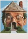 Lou Beech  -  Lou Beech/House with face/PPG - Postcard -  A5421-1
