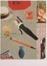 Sergio Baradat  -  S.Baradat/Collage, doll/PPG - Postcard -  A5424-1