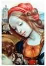 Fra filippo Lippi (1406-1469)  -  Holy Family (detail), - Postcard -  A54721-1