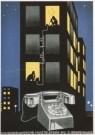 Jan Lavies (1902-2005)  -  J. Lavies/Huistelefoon/HGA - Postcard -  A5607-1