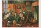 Abraham Teniers (1629-1670)  -  A.Teniers/Tobacco Coll./KMW - Postcard -  A5633-1