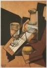Juan Gris (1887-1927)  -  J.Gris/Still.kar.-citroen/KM - Postcard -  A5641-1