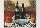 Charlie Toorop (1891-1955)  -  Fles vrucht bord, - Postcard -  A5783-1