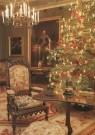 -  Kerstboom in salon koning Willem II - Postcard -  A6012-1