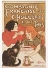 Theophile-Alexandre Steinlen  -  Compagnie Francaise des Chocolats et des Thes,1895 - Postcard -  A6110-1