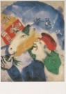 Marc Chagall (1887-1985)  -  Chagall/Peasant Life/AKG/BR - Postcard -  A6159-1