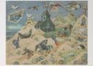 Jaap Oudes (1895-1969)  -  J.Oudes/Vlucht door het duin - Postcard -  A6228-1