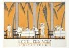 Jan Lavies (1902-2005)  -  Omslag ontbijtmenukaart, 1926 - Postcard -  A6468-1