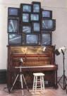 Nam-June Paik (1932-2006)  -  N.J.Paik/Piano Piece/AKG - Postcard -  A6499-1