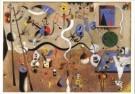 Joan Miro (1893-1983)  -  Carnival d'Arleq - Postcard -  A6500-1