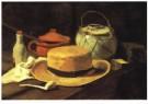 Vincent van Gogh (1853-1890)  -  V.v.Gogh/Silleven,gele hoed/KM - Postcard -  A6533-1
