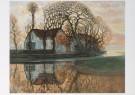 Piet Mondrian (1872-1944)  -  Boerdrij,Duivend - Postcard -  A6601-1