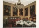 Anoniem  -  Eetkamer met Voorouderportretten familie van Tuyll - Postcard -  A6981-1