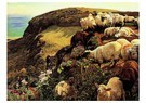 William Holman Hunt (1827-1910 -  Our English Coasts, 1852 - Postcard -  A72894-1