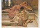 Sir L.Alma-Tadema(1836-1912)  -  Een lievelingsdichter, opus CCXC, oktober 1888 - Postcard -  A7290-1
