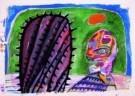 Lucebert (1924-1994)  -  Zonder titel - Postcard -  A7356-1