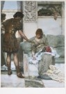 Sir L.Alma-Tadema(1836-1912)  -  Een stille groet - Postcard -  A7394-1