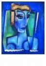 Reimond Kimpe (1885-1970)  -  Blauwe vrouw. - Postcard -  A7519-1