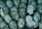 Anoniem  -  Nias maskers gelaatsafgie - Postcard -  A7539-1
