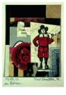 Kurt Schwitters (1887-1948)  -  MZ 1926,24 Zoo - Postcard -  A7556-1