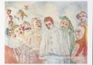 James S. Ensor (1860-1949)  -  J.Ensor/Bedroefde Pierrot/KM - Postcard -  A7601-1