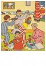 A.N.B.  -  Kinderen spelen met cadeaus - Postcard -  A76052-1