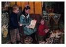 Leo Gestel (1881-1941)  -  drie kinderen b - Postcard -  A7630-1
