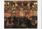 Isaac Israels (1865-1934)  -  I. Israels/Cafe-chantant/KM - Postcard -  A7660-1