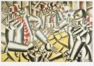 Fernand Leger (1881-1955)  -  Kaartspelende soldaten - Soldiers playing at cards - Postcard -  A7671-1