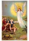 A.N.B.  -  Kerstengel verschijnt - Postcard -  A76834-1