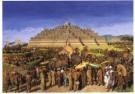 G.B. Hooyer (1848-1934)  -  Processie bij Borobudur - Postcard -  A7704-1