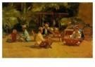 Isaac Israels (1865-1934)  -  Gamelanspelers - Postcard -  A7726-1