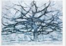 Piet Mondrian (1872-1944)  -  De grijze boom, 1912 - Postcard -  A7759-1